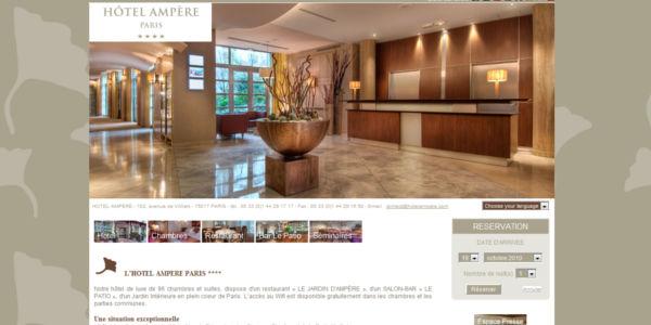 Hotel Ampere - Hotel 4 Etoiles a Paris
