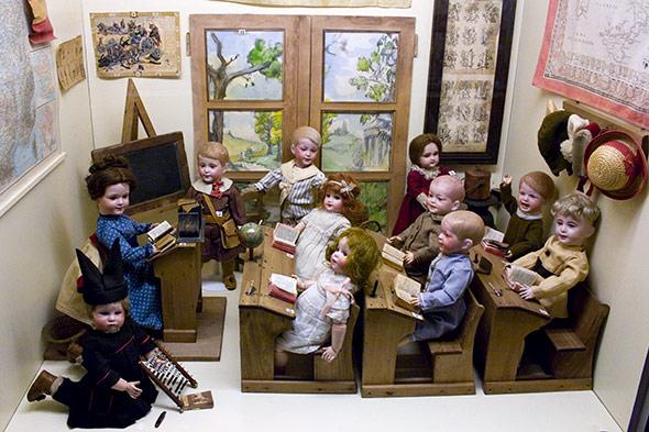 musée poupée